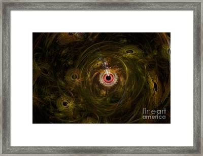 Eye See It All Framed Print