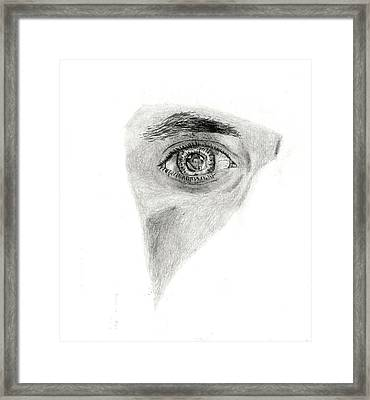 Eye See My Self Framed Print