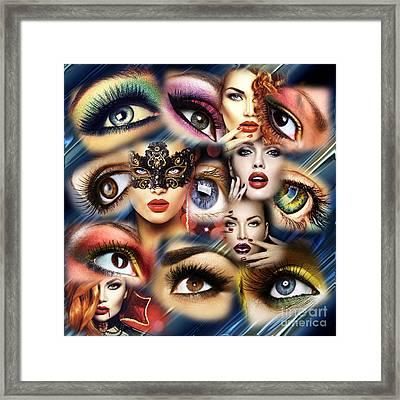 Eye See You Framed Print by John Rizzuto