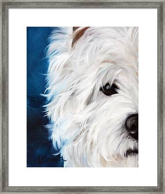 Eye See You Framed Print by Mary Sparrow