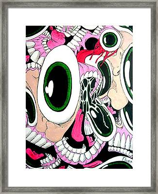 Eye Sore Framed Print by Dan Fluet
