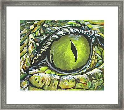 Eye Spy Framed Print by JoAnn Wheeler