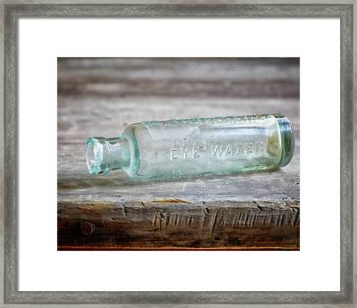 Eye Water Framed Print by Alison Sherrow I AgedPage
