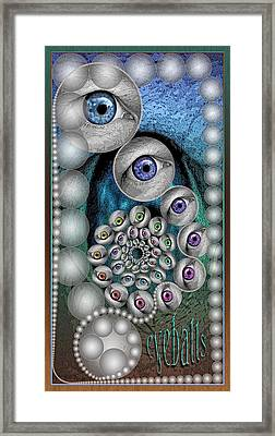 Eyeballs Framed Print by Becky Titus