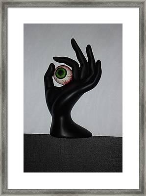 Eyehand Framed Print
