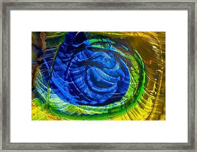 Eyeing A Storm Framed Print