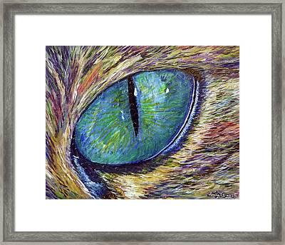 Eyenstein Framed Print