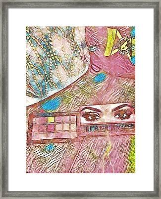 Eyes Framed Print by Jason Lees