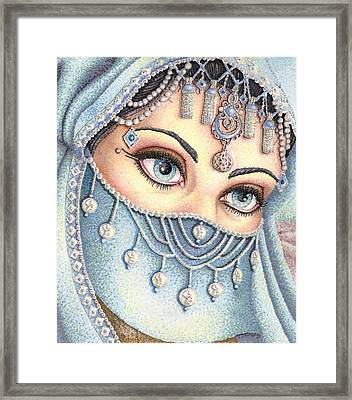 Eyes Like Water Framed Print by Scarlett Royal