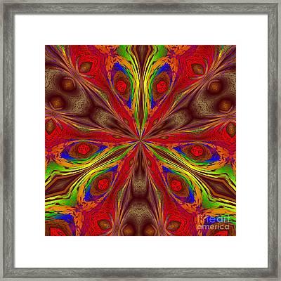 Eyes Framed Print by Mark Lopez