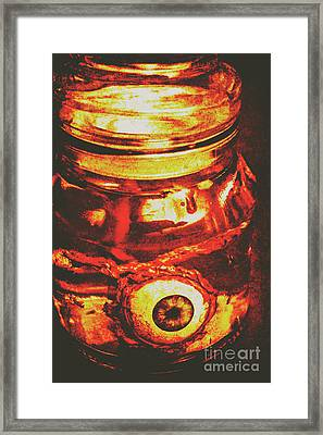 Eyes Of Formaldehyde Framed Print
