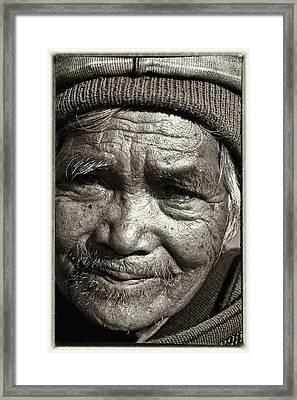 Eyes Of Soul 2 Framed Print