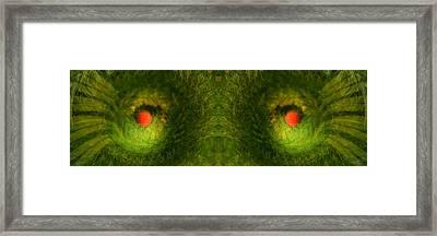 Eyes Of The Garden-2 Framed Print