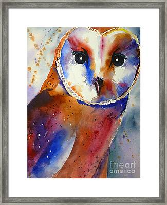 Eyes Of The Guardian Framed Print