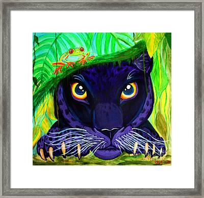 Eyes Of The Rainforest Framed Print