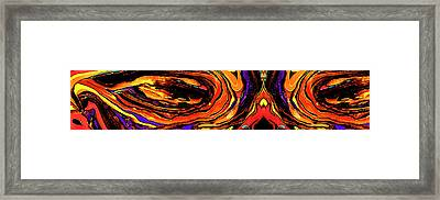 Eyes Of The Soul Framed Print by Christopher Phelps