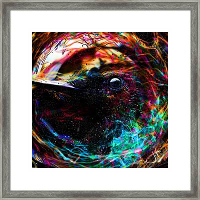 Eyes Of The World Framed Print