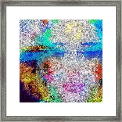 Eyes On The Horizon Framed Print