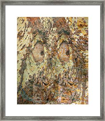 Eyes See You Framed Print by Becky Titus