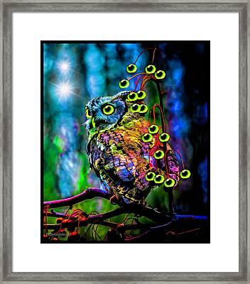 Eyes See You Framed Print by LeeAnn McLaneGoetz McLaneGoetzStudioLLCcom