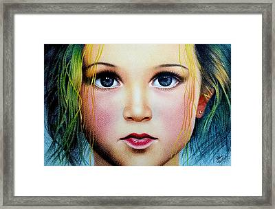 Eyes Speaks Framed Print by Mukul Dhankhar