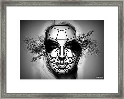 Eyes Tell The Truth Framed Print