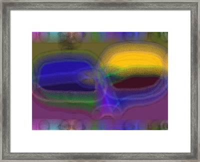 Eyes Framed Print by Thomas Smith