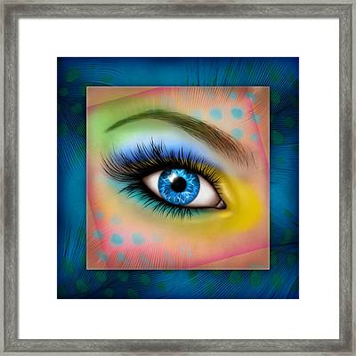 Eyetraction Framed Print