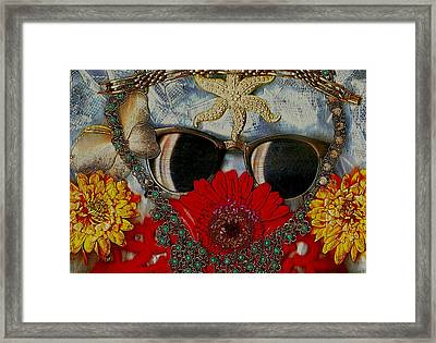 Eyewear And Beautu Popart Framed Print by Pepita Selles