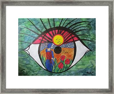 Eyewitness Framed Print