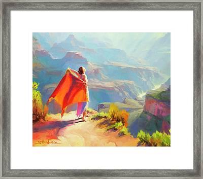 Eyrie Framed Print