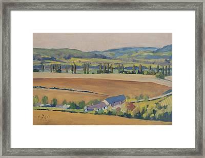 Eyserhalte Eys Wittem Framed Print
