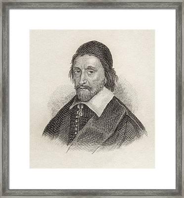 Ezekiel Spanheim 1629 To 1710. German Framed Print