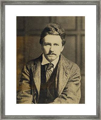 Ezra Pound 1885-1972, In The 1920s Framed Print by Everett