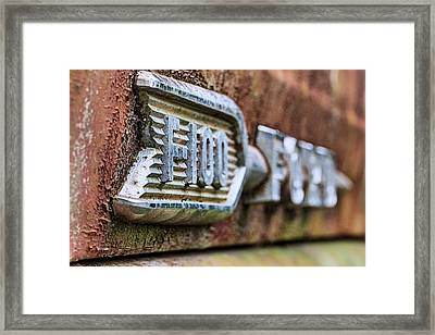F-100 Ford Framed Print by JC Findley
