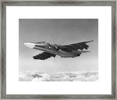 F-111 Aardvark Bomber Framed Print by Underwood Archives