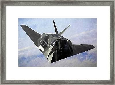 F-117 Stinkbug  Framed Print