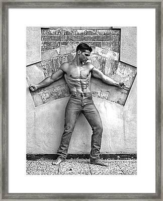 F 13 Framed Print by Norberto Torriente