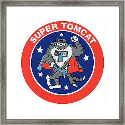 F-14 Super Tomcat Framed Print