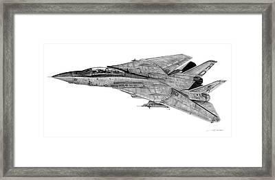 F-14b Tomcat Framed Print