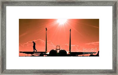 F-15-fighter-jet-381746 Framed Print by Celestial Images
