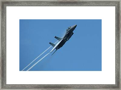 F-15 Strike Eagle Framed Print