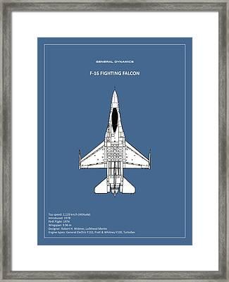 F-16 Fighting Falcon Framed Print