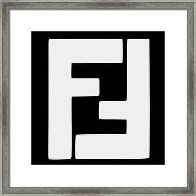 F 2 Framed Print