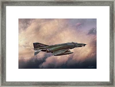 F-4e Phantom Sea Framed Print by Peter Chilelli