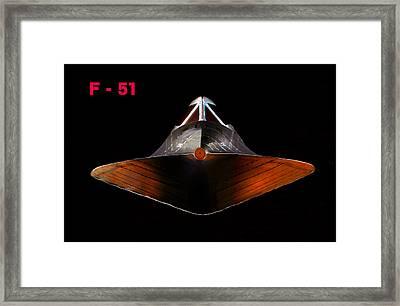 F 51 Framed Print