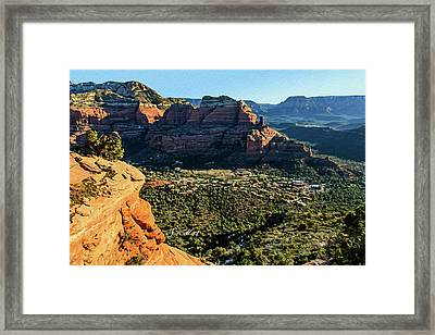 F And B Ridge 07-021 Framed Print