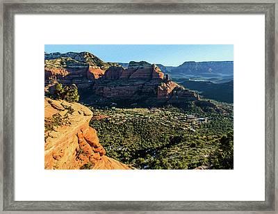 F And B Ridge 07-021 Framed Print