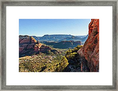 F And B Ridge 07-028 Framed Print
