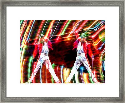 F. Mercury In Color Framed Print